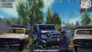 POLICE CHASE! | Lieutenant & Detective! | PUBG Mobile