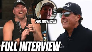 Phil Mickelson Tells Pat McAfee His Best Chipping Tips, Talks Bryson vs Brooks Rivalry