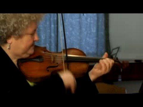 This is a baroque violin