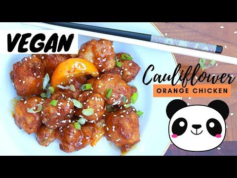 Chinese Orange Cauliflower Bites