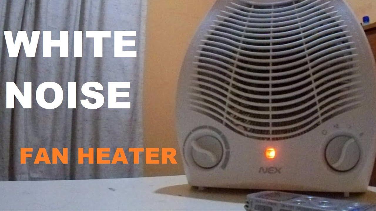 White Noise Fan Heater Sleep Meditation Relaxing Youtube