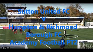 Sutton V hampton & Richmond 2nd half new