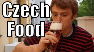 Eating Czech Food - Goulash, Fried Cheese & Pilsner Beer In Prague