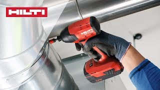 INTRODUCING the Hilti SID 4-A22 cordless impact driver