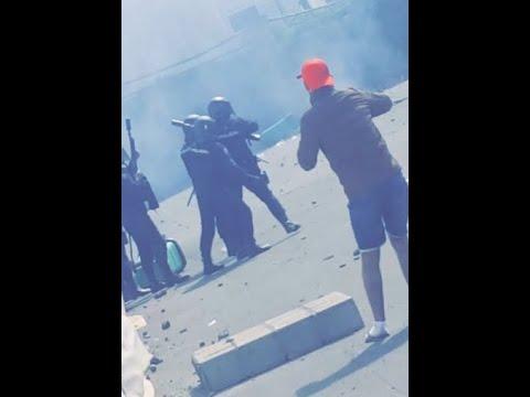 Inmigrantes en Las Raíces, Tenerife: disturbios y peleas