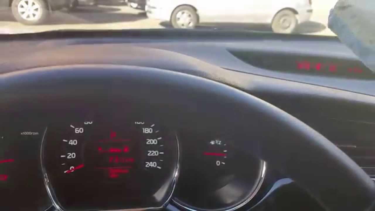 как работает датчик света на автомобиле киа рио