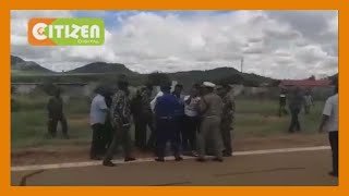 Drama as Governor Mike Sonko refuses to board a police chopper