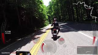 Part 2 of 2 - Kawi z125 and Benelli TNT 135 on Tail of the Dragon