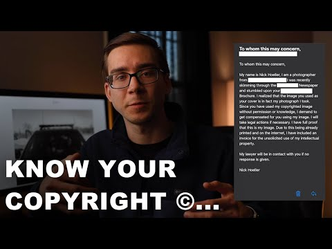 Know Your Photography Copyright Laws... or This Will Happen to You!