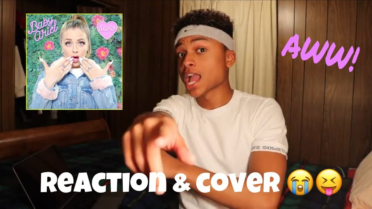 baby ariel aww reaction cover andre swilley youtube