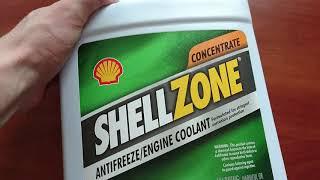 ShellZone Антифриз Shell G11 (США)