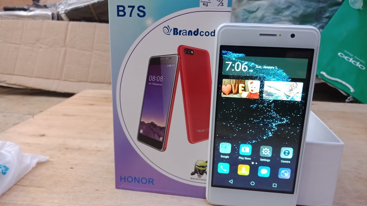 Hp Brandcode B7s Honor Unboxing Review 2018 Marshmallow 60 Android Ram 1gb Internal 8gb Garansi 1 Thn