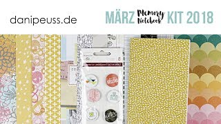 danipeuss.de Memory Notebook Kit | März 2018