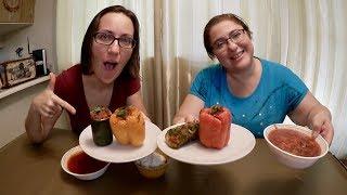 Ukrainian Feast | Gay Family Mukbang (먹방) - Eating Show