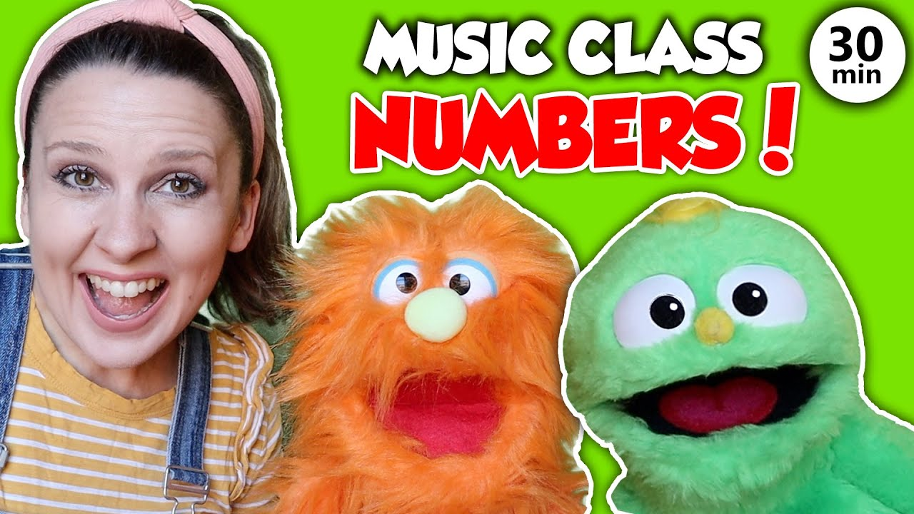 Preschool Music And Movement Class Number Songs Counting Dance And Learning Videos For Kids Youtube