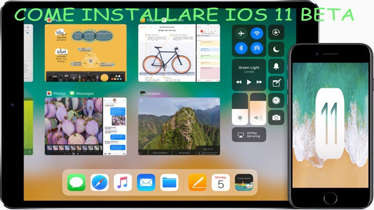 Come installare iOS 11 beta su qualunque iPhone ed iPad ...