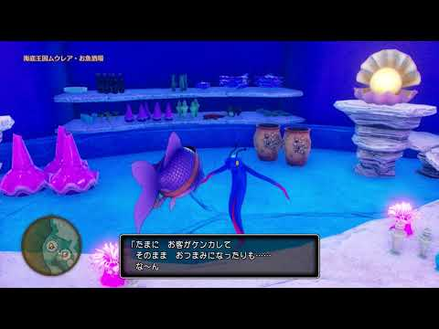 Dragon Quest XI [Jp,PS4] Commentary #098, Undersea Kingdom Muurea: Seren's Guidance