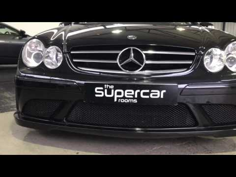 The Supercar Rooms - Mercedes CLK63 Black Series For Sale