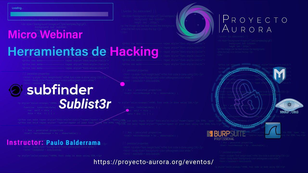 """Herramientas de Hacking: """"Subfinder y Sublist3r"""""""