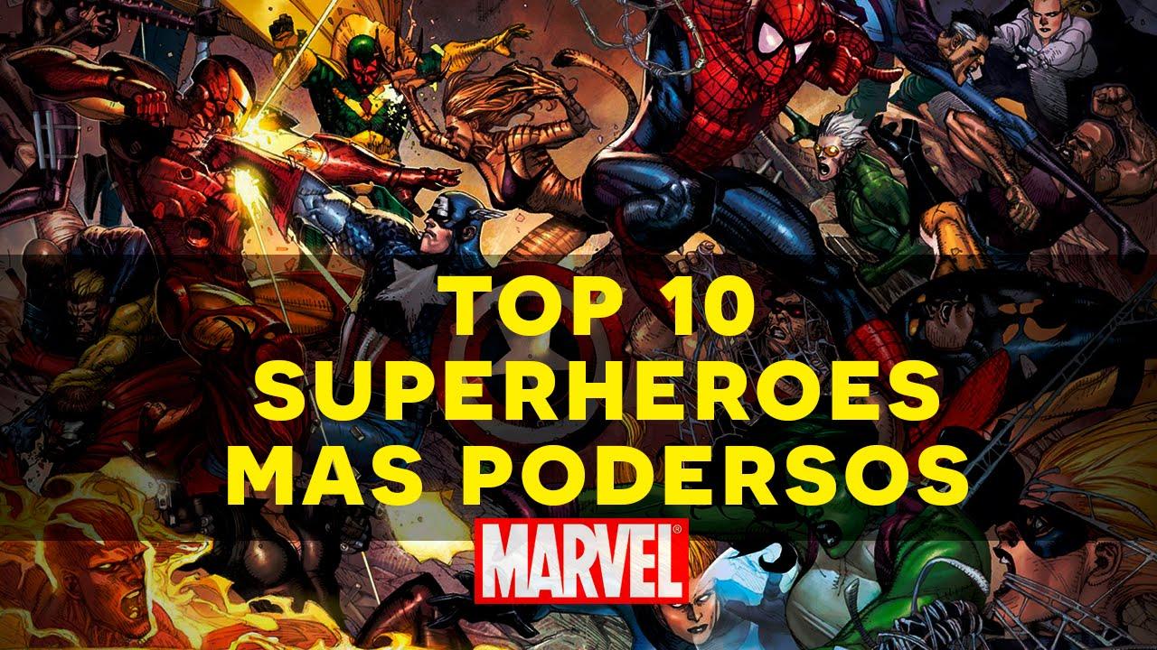 top 10 los superheroes m s poderosos de marvel comics youtube. Black Bedroom Furniture Sets. Home Design Ideas