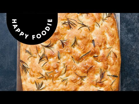How to Make Home-Made Focaccia | James Morton