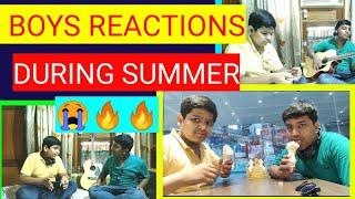 🔥BOYS SUMMER REACTION....HAYE YE GARMI....First Comedy Video