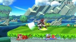 Lucina vs Sheik. Sword master vs kunoichi