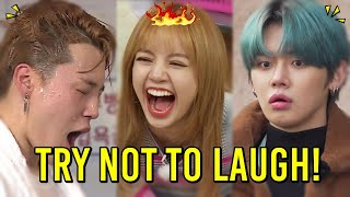 KPOP FUNNIEST MOMENTS OF ALL TIME | BTS, BLACKPINK, STRAY KIDS, TXT, ATEEZ, MONSTA X, TWICE...