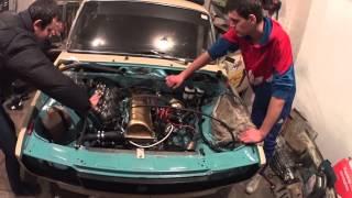 Ремонт #27 Первый запуск двигателя VAZ 2105 Димона True Garage Works(, 2015-03-09T15:14:34.000Z)