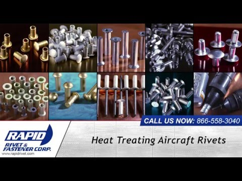 Heat Treated Aircraft Rivets From Rapid Rivet & Fastener Corp.