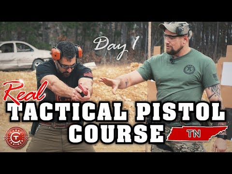 Tactical Pistol Course  Dover, TN  Day 1