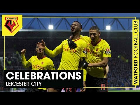 CELEBRATIONS 🙌🏻 | Huge win over Leicester!