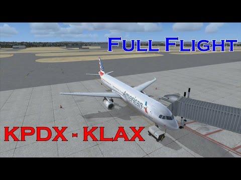 [FSX] [Full Flight] PDX - LAX