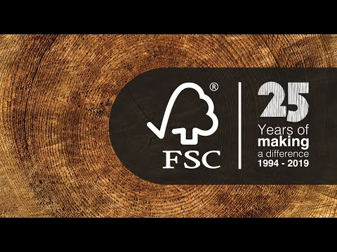 You are, we are the Forest Stewardship Council