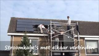 Installatie zonnepanelen Groene Winkel