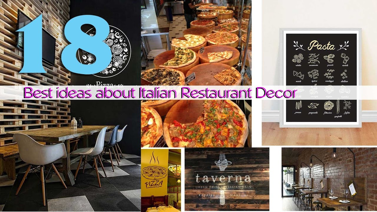 17 Best ideas about Italian Restaurant Decor - YouTube