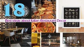 17 Best Ideas About Italian Restaurant Decor