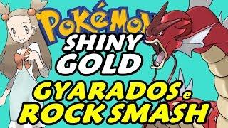 Pokémon Shiny Gold (Detonado - Parte 11) - Gyarados Vermelho, Rock Smash e Jasmine