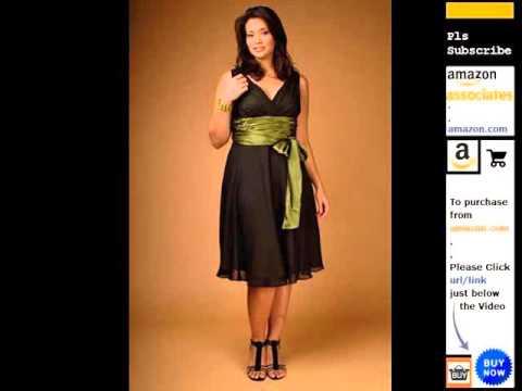 769ce5df8dd Women's Plus-Size Cocktail & Party Dresses Romance - YouTube