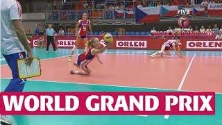 World Grand Prix: Amazing digging from Czech Republic