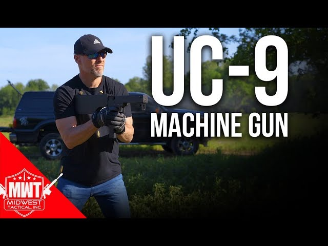 UC-9 Radio Gun Folding Sub Machine Gun | Full Auto