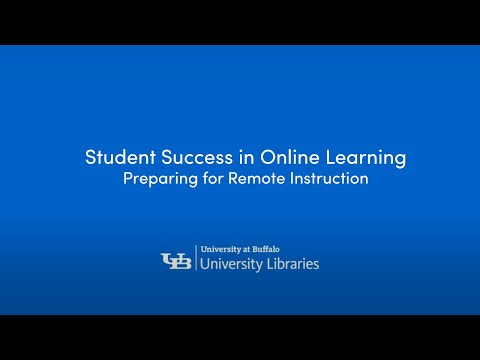 Student Success In Online Learning