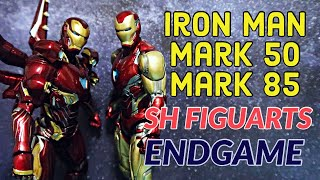 IRON MAN MARK 50 VS 85 ACTION FIGURE | Sh Figuarts Avengers Endgame