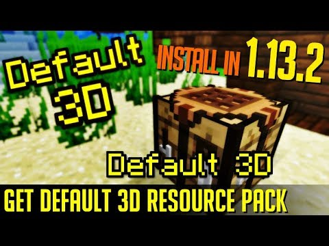 How To Get 3d Textures In Minecraft 1 13 2 Download Install