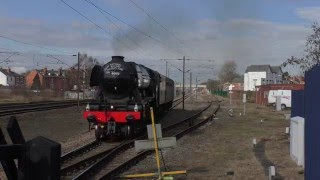 60103 Flying Scotsmans' first mainline tour after rebuilding.
