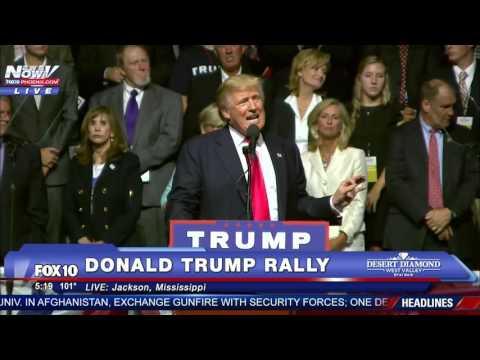 FNN: Donald Trump Rally Speech - Jackson, Mississippi 8/24/16