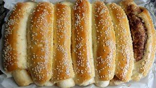 Bánh Mì Ngọt - Cách làm BÁNH MÌ NGỌT NHÂN MỨT mềm mịn - Món Ăn Ngon Mỗi Ngày