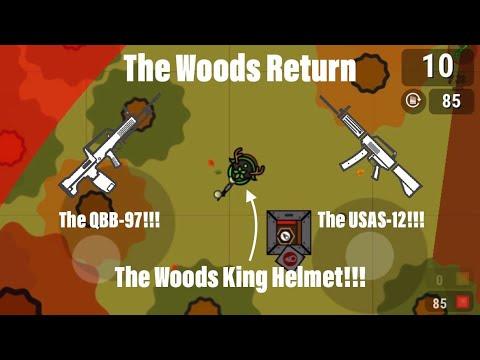 Woods King Helmet + USAS-12 = Win!