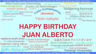 JuanAlberto   Languages Idiomas - Happy Birthday