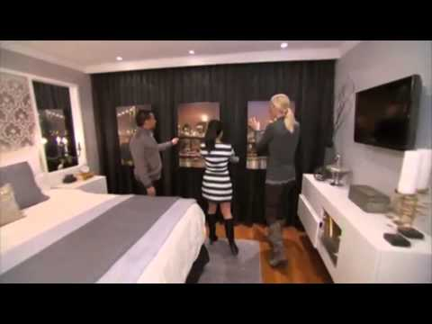 Candice Olson Master Bedroom Ventless Fireplace  YouTube